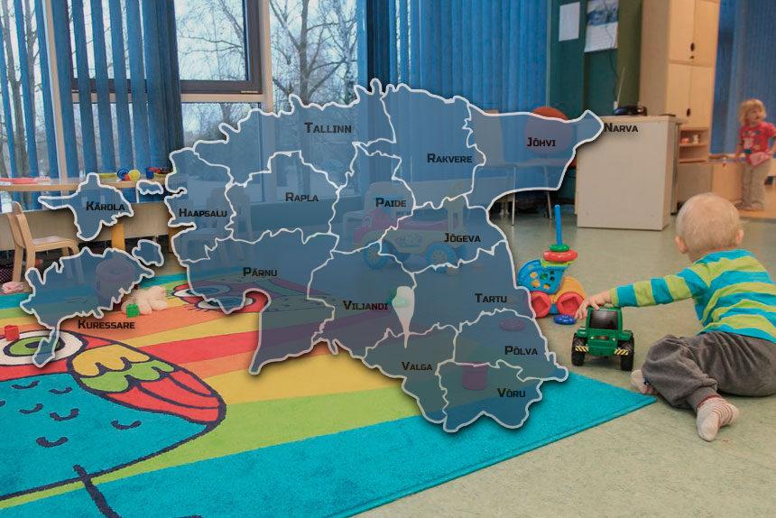 Как устроить ребенка в садик при переезде в Эстонию