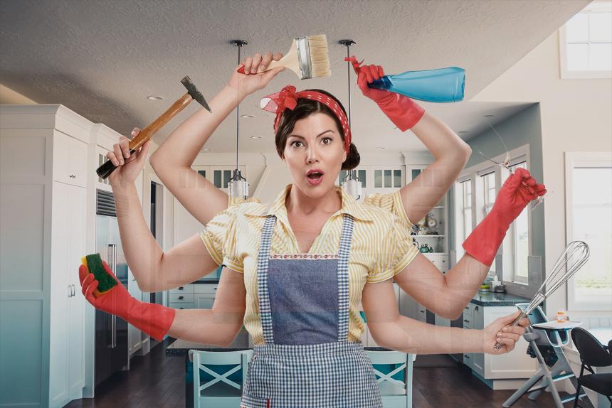 на кухне должно быть чисто и аккуратно