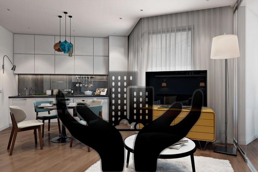 Популярность небольших квартир в мире