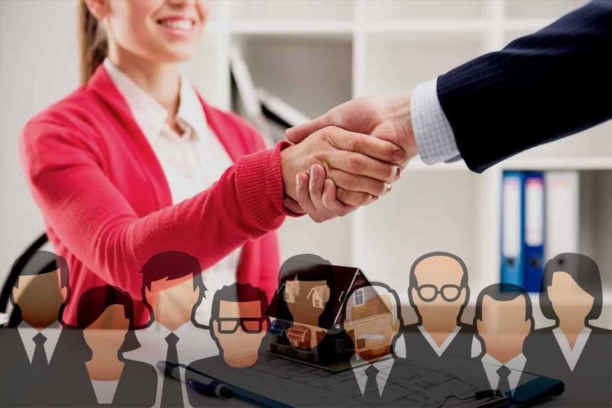 Услуги по недвижимости для частных клиентов