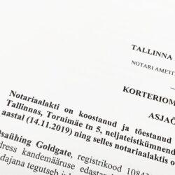 нотариальные услуги в Эстонии