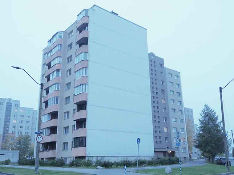 Двухкомнатная квартира в Ласнамяэ 48м2