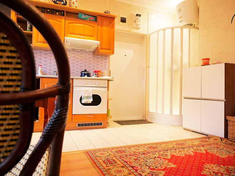 Дом находится на тихой улицы по адресу Ristiku 30 Однокомнатная