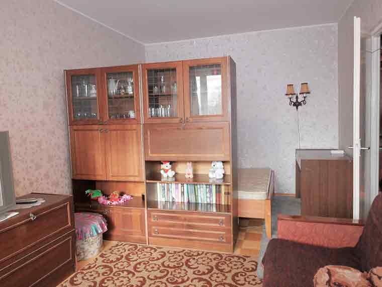Квартира в Таллине однокомнатная на длительный срок до 250 евро